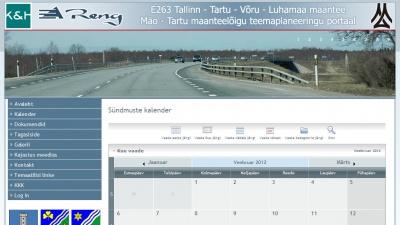 Tallinn - Tartu - Võru - Luhamaa maantee